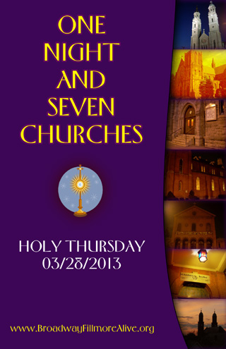 One Night and Seven Churches