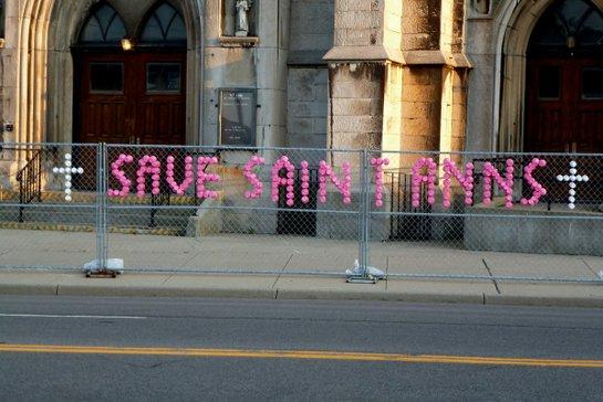 Save Saint Ann's